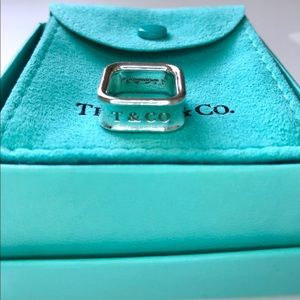 Authentic TIFFANY & CO Square Cushion Ring